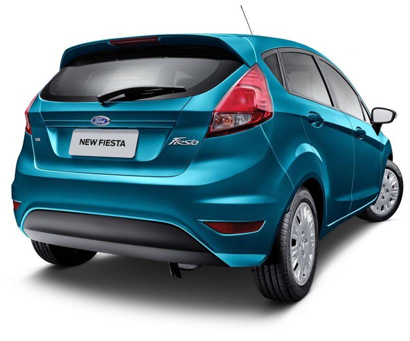 Ford Fiesta ganha versão automática
