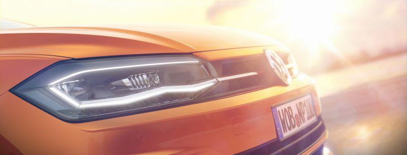Volks divulga oficialmente 1ª imagem do novo Polo