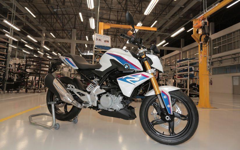 BMW confirma data de lançamento do modelo G 310 R no Brasil