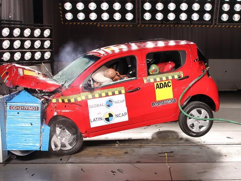 Fiat Mobi recebe apenas 1 estrela em teste de segurança e colisão