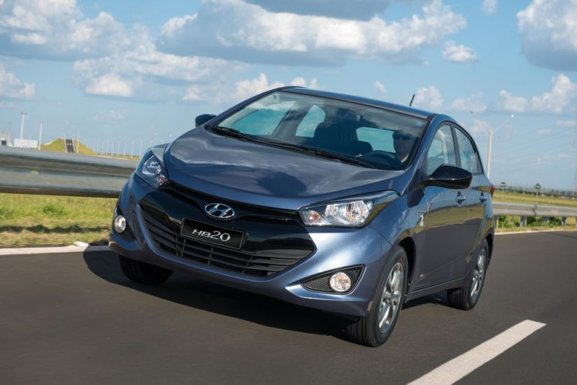 Confira os carros mais vendidos do mês de julho
