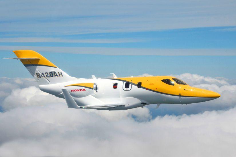 Avião da Honda dará volta ao mundo
