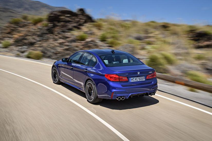 BMW revela detalhes da nova geração do M5