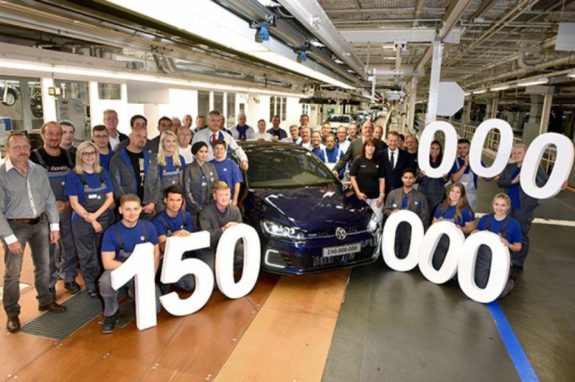 Volks comemora 150 milhões de carros produzidos