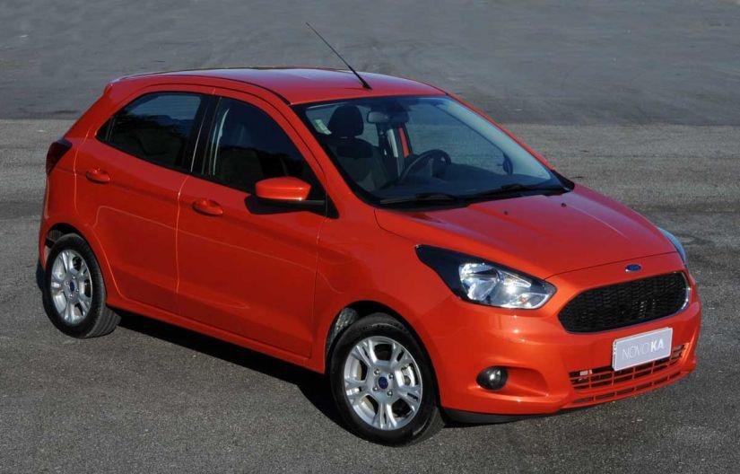Ford anuncia redução no preço de algumas versões do Ka