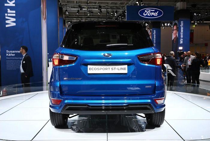 Ford apresenta oficialmente novo EcoSport em Frankfurt - Foto 1