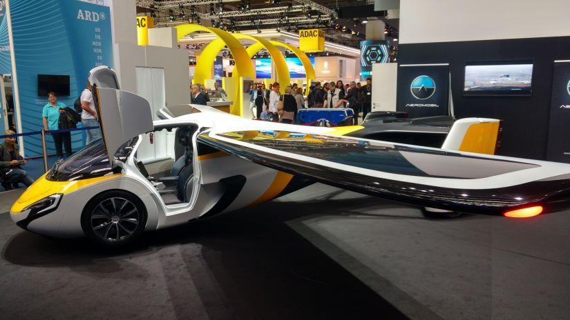 Salão de Frankfurt apresenta carro voador