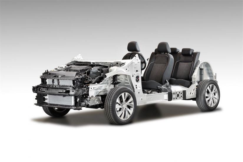 Plataforma MQB do novo Volkswagen Polo