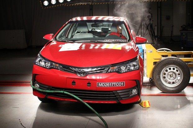 Toyota Corolla - Crash Test