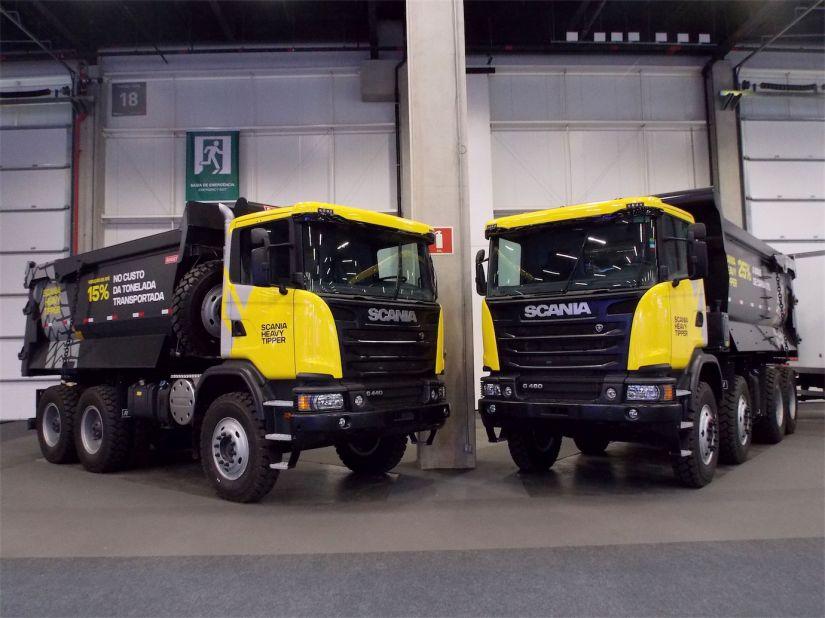 Scania Heavy Tipper