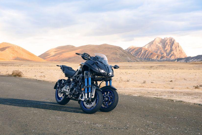 Yamaha mostra moto de 3 rodas e com alta cilindrada