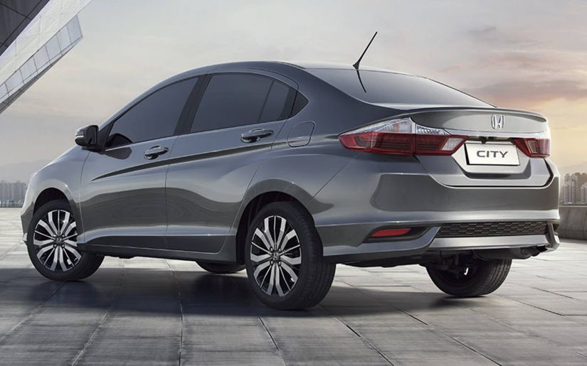 Honda divulga novo visual do City para este ano