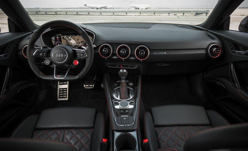 Audi apresenta linha 2018 do TT RS Coupé