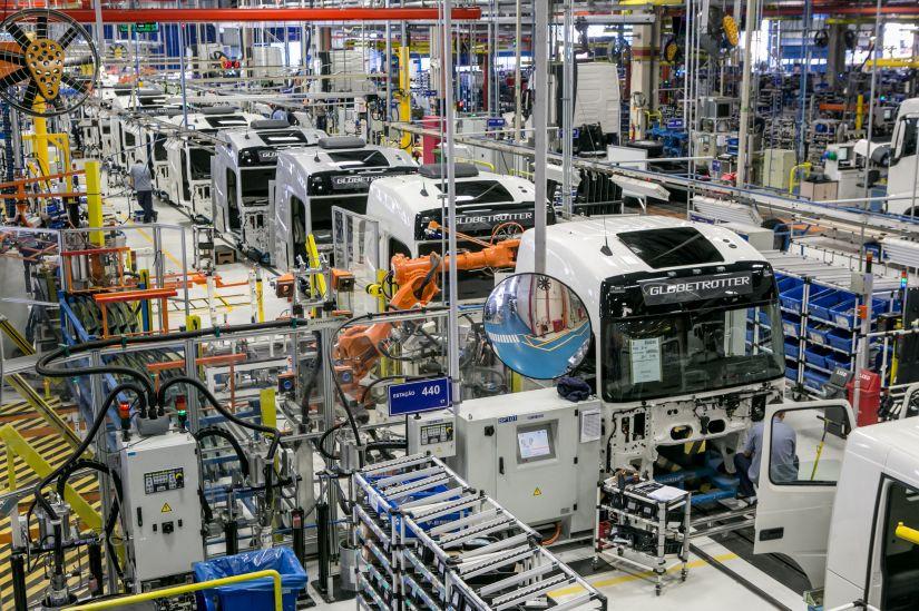Volvo anuncia abertura de 2º turno de trabalho em fábrica no PR