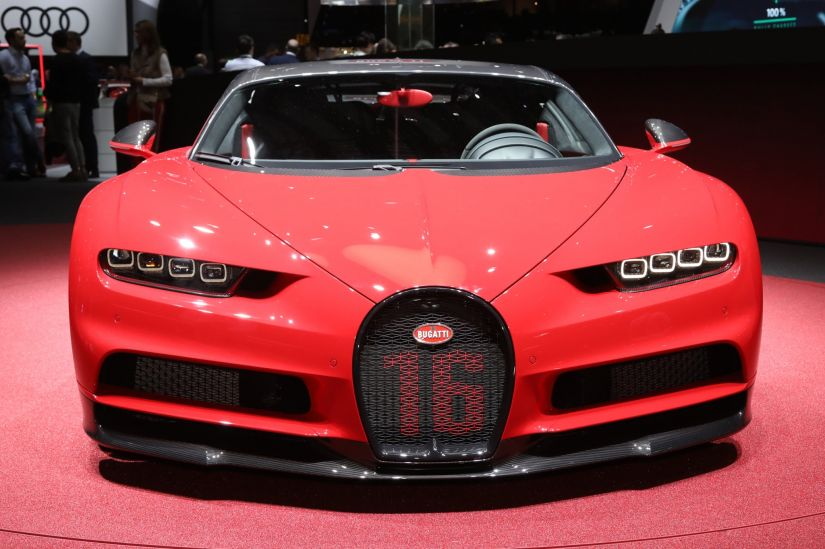 Bugatti revela o hiperesportivo Chiron Sport