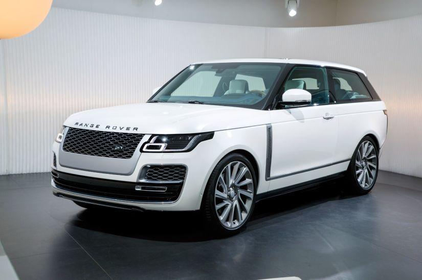 Land Rover apresenta SUV grande transformado em cupê