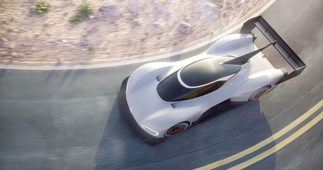 Volkswagen revela protótipo elétrico com que vai a Pikes Peak
