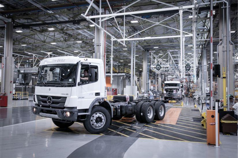 Fábrica da Mercedes-Benz em São Bernardo