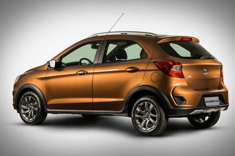 Ford confirma lançamento do Ka Freestyle para final do mês na Índia