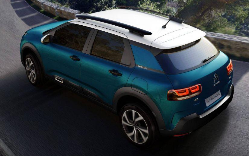 Citroën divulga primeiras imagens oficiais do C4 Cactus nacional