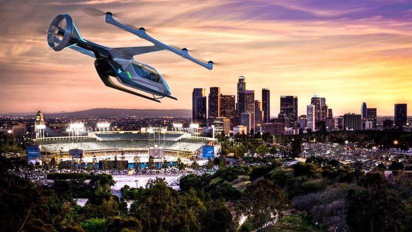 Embraer apresenta conceito de carro voador