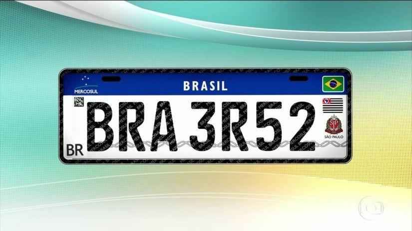 Placa do Mercosul é adiada no Brasil