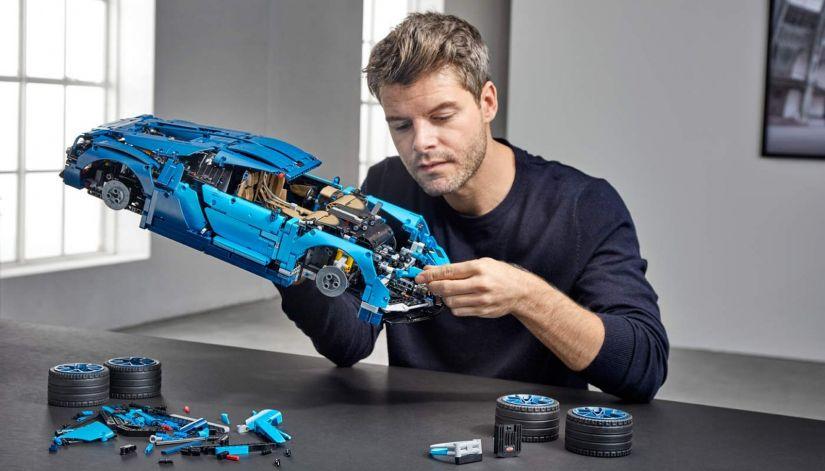 Bugatti Chiron ganha versão em lego - Foto 1