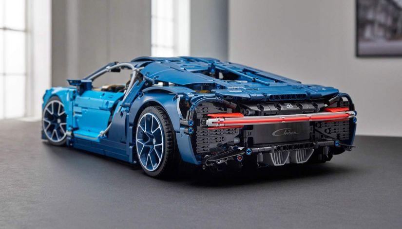 Bugatti Chiron ganha versão em lego - Foto 2