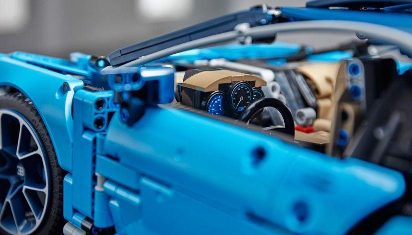 Bugatti Chiron ganha versão em lego - Foto 3