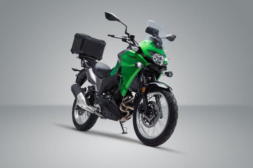 Moto Versys-X 300 fica mais barata no Brasil