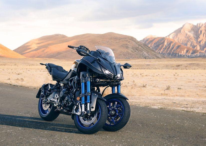 Yamaha começa a vender moto de 3 rodas na Europa