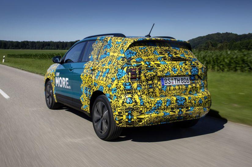 T-Cross aparece com pouca camuflagem na Europa - Foto 2