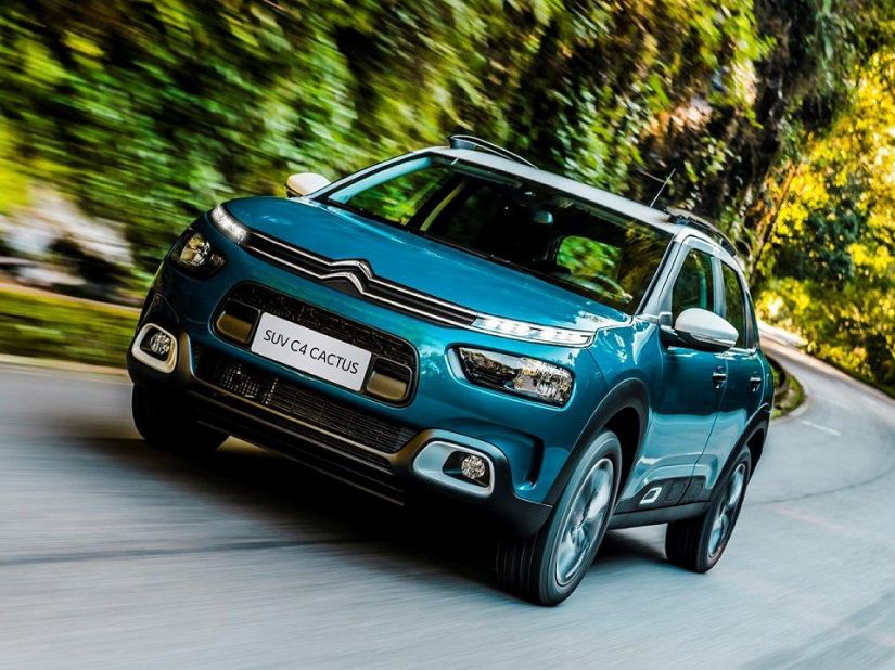 Citroën revela imagem interna do novo C4 Cactus nacional