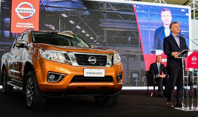 Frontier começa a ser produzido na nova fábrica da Nissan na Argentina