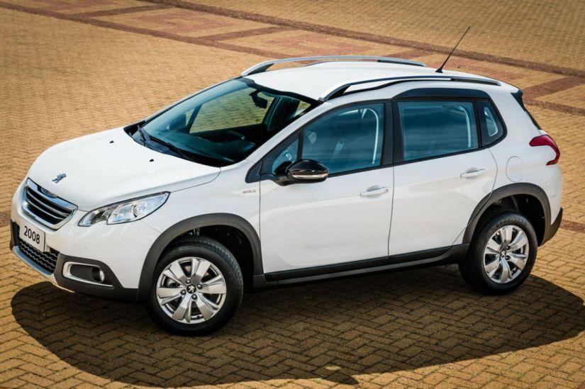 Peugeot lança série especial do 2008