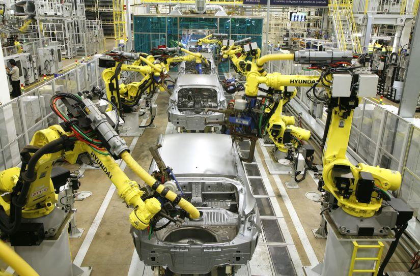 Produção de carros no Brasil cresce 9,3% em julho