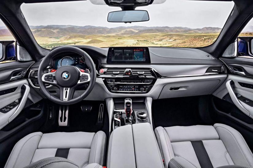 BMW anuncia recall do M5 por problema no sensor do nível de combustível
