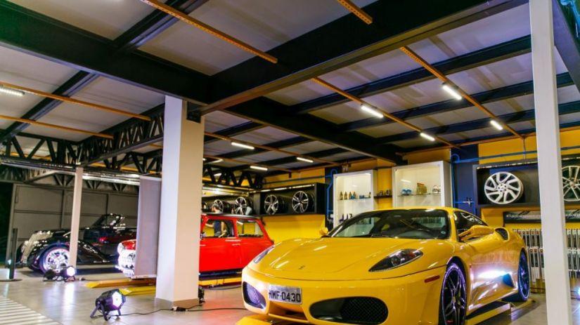 Curitiba ganha primeiro centro automotivo de luxo do Sul do Brasil