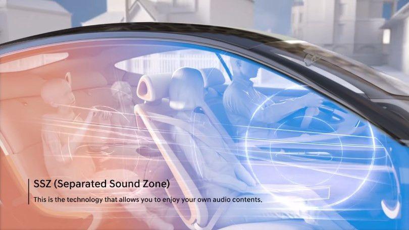 Kia cria recurso para zoneamento de sons no carro