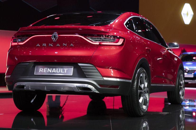 Renault revela SUV inédito chamado Arkana