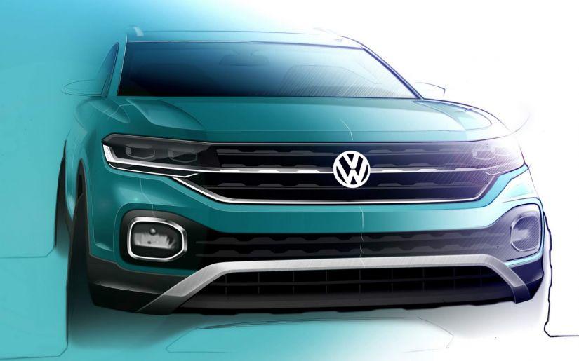 Volkswagen antecipa divulgação do interior do novo T-Cross