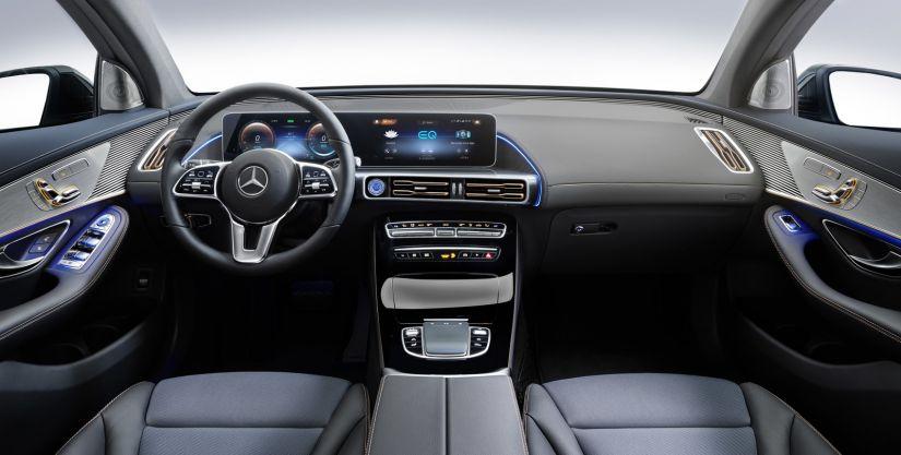 Mercedes-Benz apresenta seu primeiros SUV elétrico