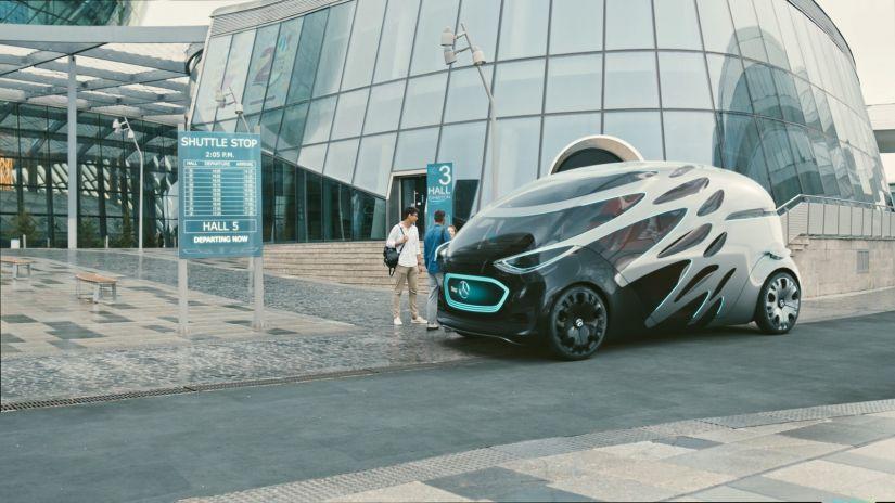 Mercedes-Benz apresenta plataforma que anda sozinha