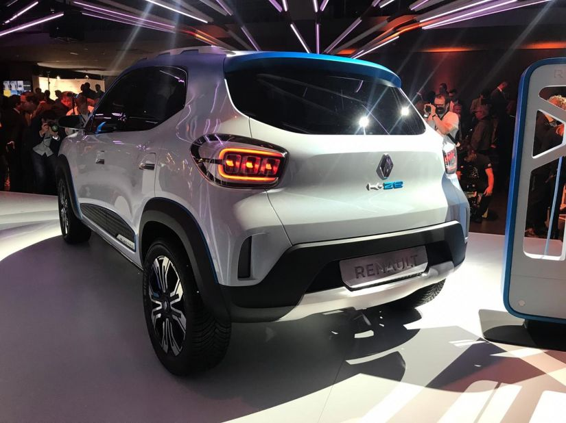 Renault revela conceito de carro elétrico popular