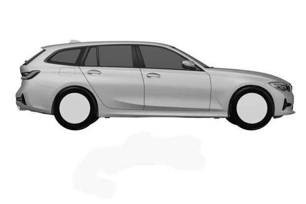 BMW registra desenho do novo Série 3 Touring