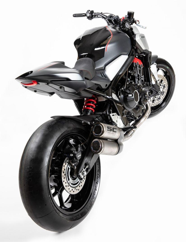 Honda revela conceito de futura moto naked