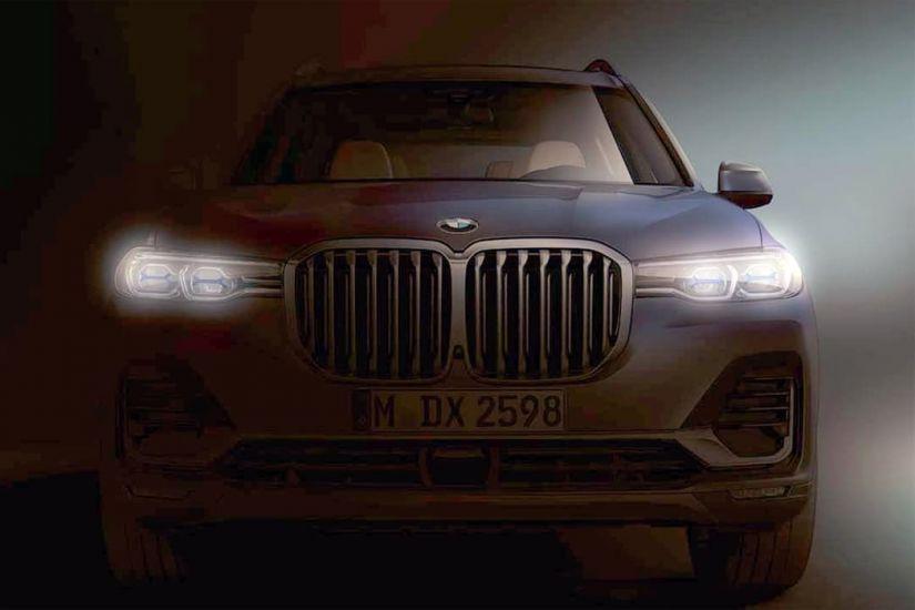 BMW divulga primeira foto oficial do novo X7