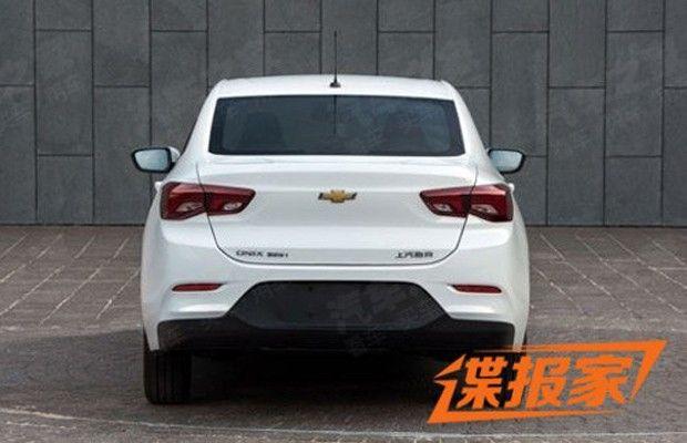 Novo Chevrolet Prisma aparece na China