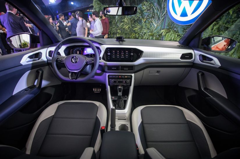 Volkswagen apresenta oficialmente T-Cross no Brasil - Foto 2
