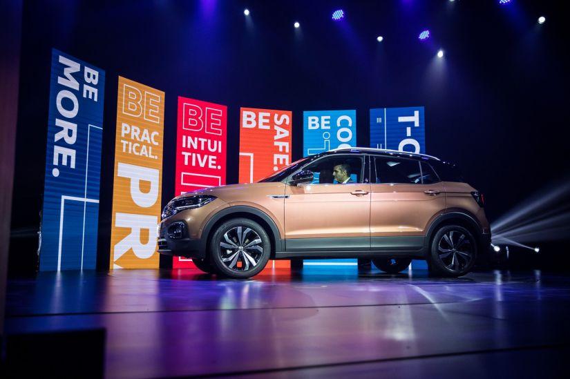 Volkswagen apresenta oficialmente T-Cross no Brasil - Foto 3